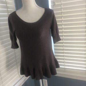 Shrinking Violet ladies sweater